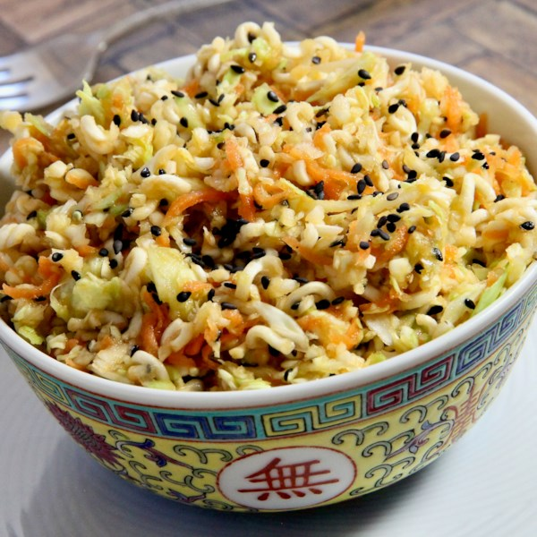 chinese cabbage salad photos