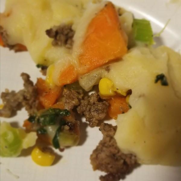 traditional style vegan shepherds pie photos