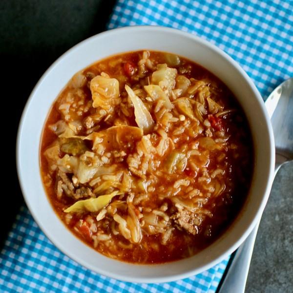 instant pot r cabbage roll soup photos