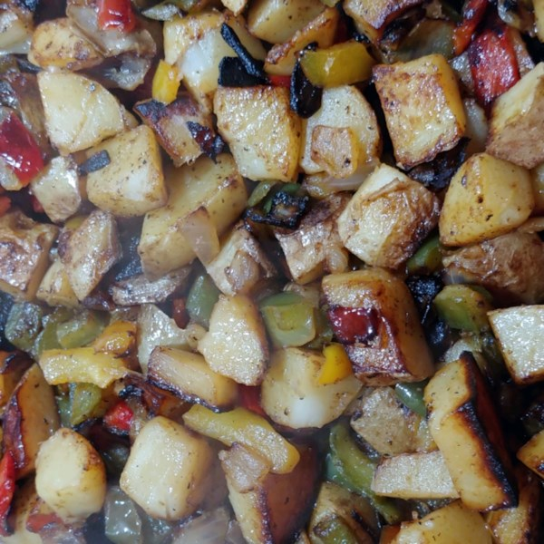 quick and easy home fries photos