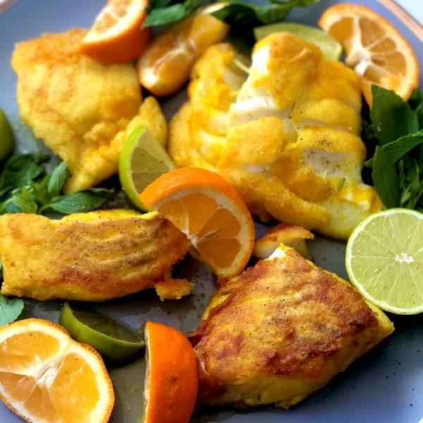 mahi sorkh shodeh persian fried fish photos
