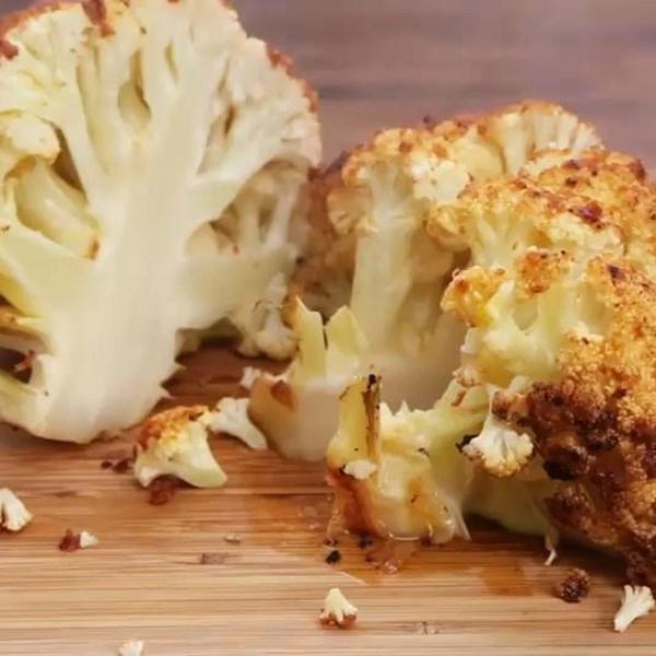 sriracha whole roasted cauliflower photos