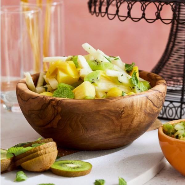 jicama and tropical fruit salad photos