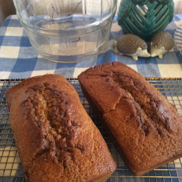 spiced applesauce bread photos