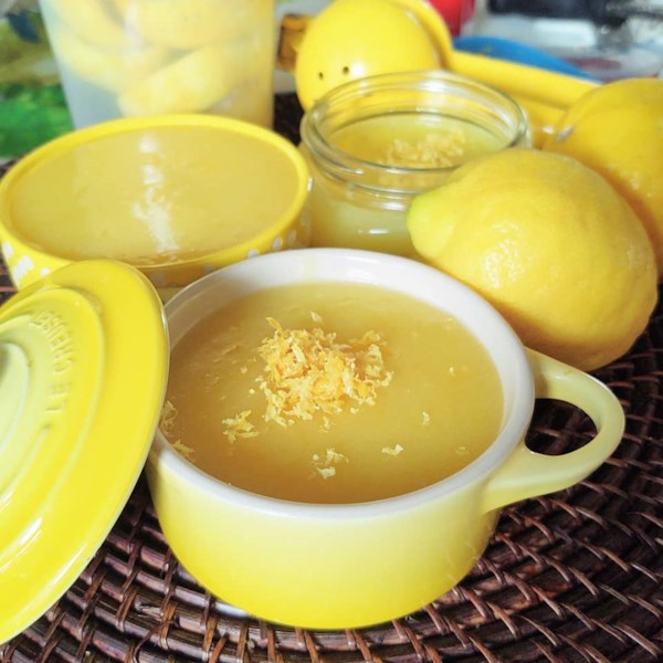 microwave lemon curd photos