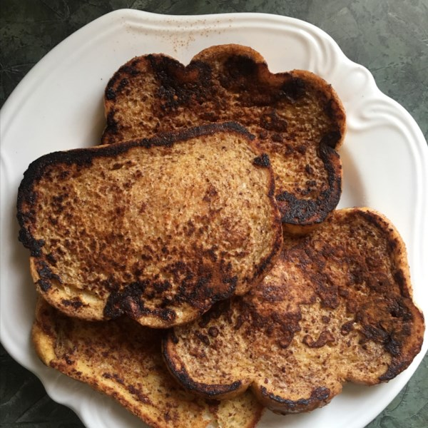 cinnamon accented french toast photos