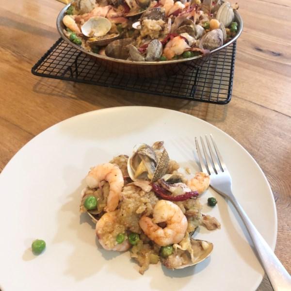 quick and easy paella photos