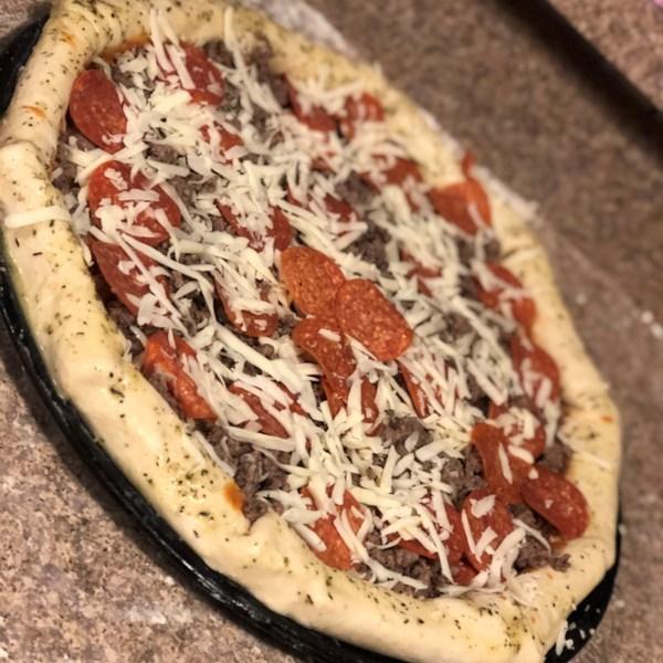 no yeast pizza crust photos