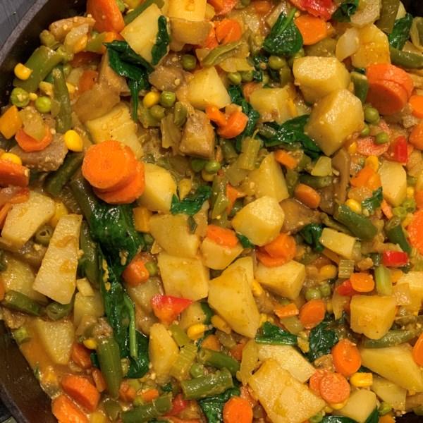 marrakesh vegetable curry photos