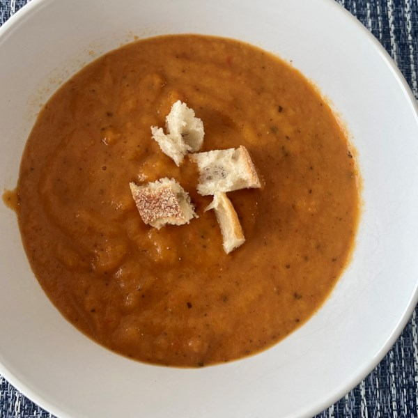 sweet and chunky tomato soup photos