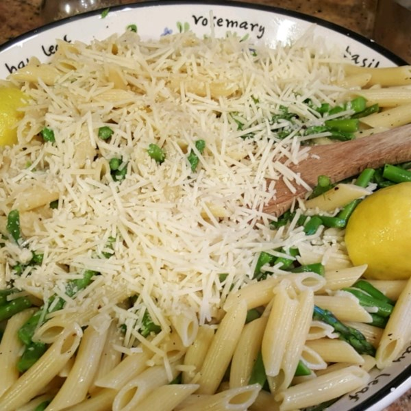 lemon asparagus pasta photos