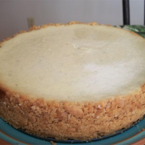 vanilla bean cheesecake photos