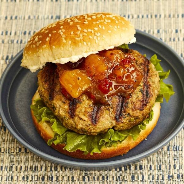 grilled lamb burgers photos