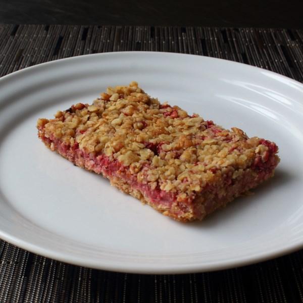 strawberry oatmeal breakfast bars photos