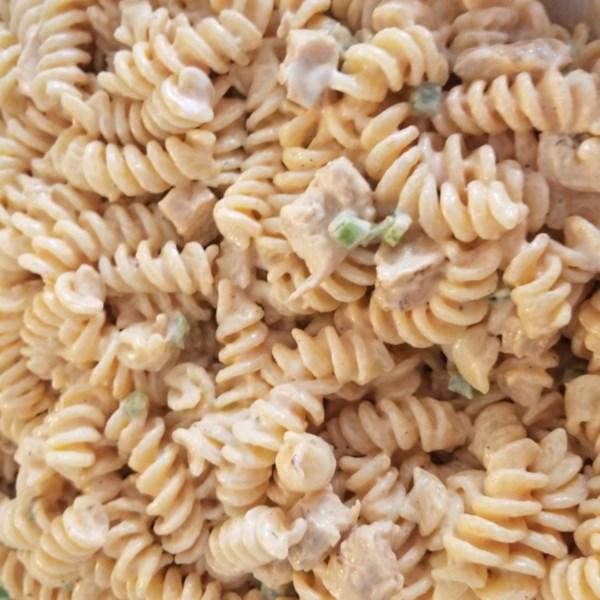 buffalo chicken pasta salad photos