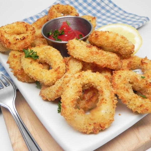 air fryer calamari photos