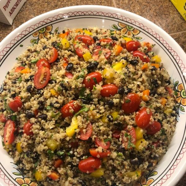 zesty quinoa salad photos