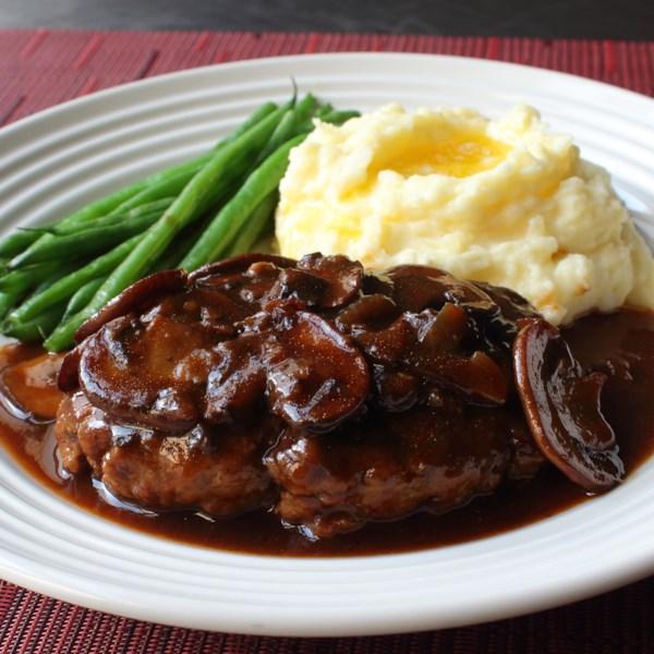 chef johns salisbury steak photos