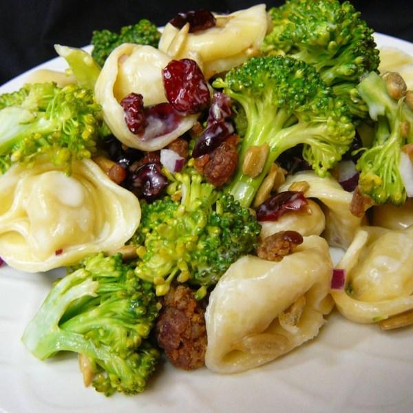 broccoli and tortellini salad photos