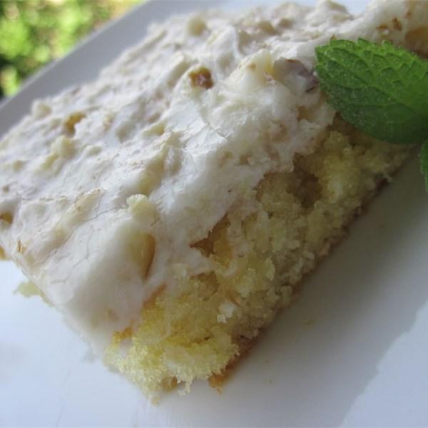 Diabetic White Sheet Cake Recipe