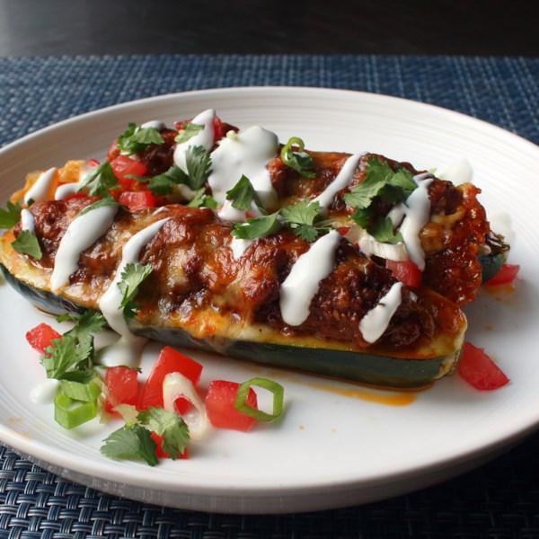 chef johns taco stuffed zucchini boats photos