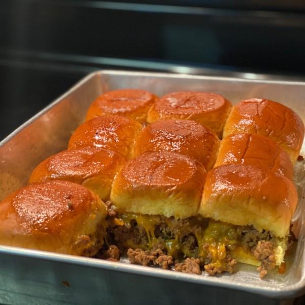cheeseburger sliders photos