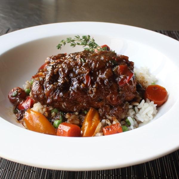 jamaican brown stew chicken photos