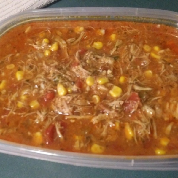 chicken enchilada slow cooker soup photos