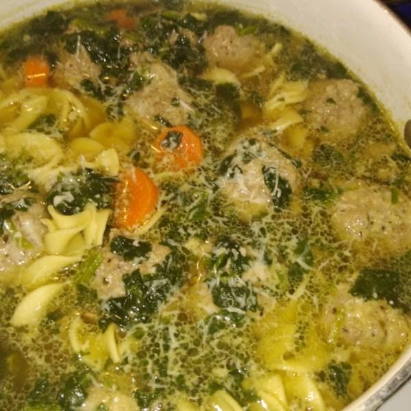mamas italian wedding soup photos