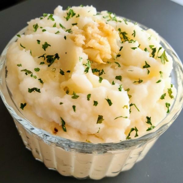 jens creamy garlic mashed potatoes photos