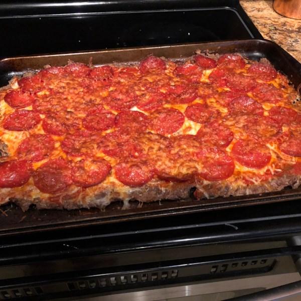 pepperoni meatza photos