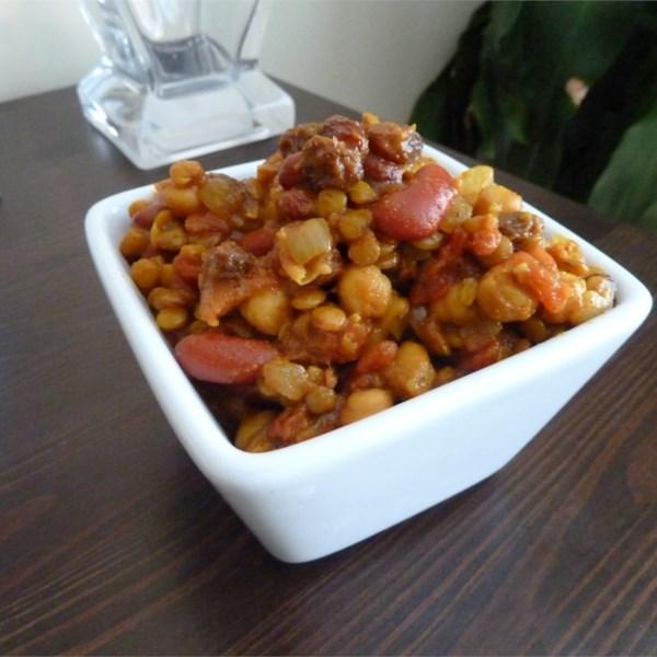 vegetarian bean curry photos
