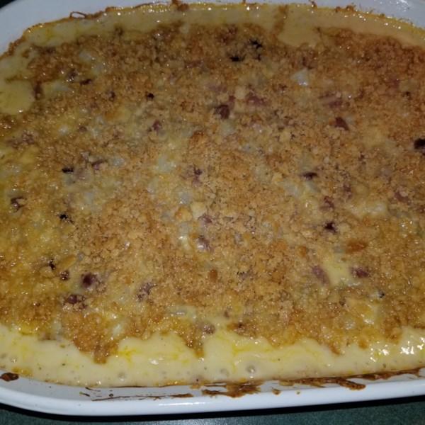 leftover ham n potato casserole photos