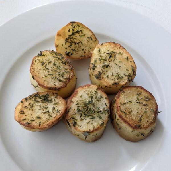 fondant potatoes photos