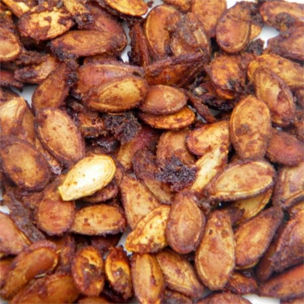 cajun spiced roasted pumpkin seeds photos