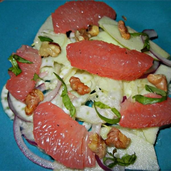 fennel grapefruit and apple salad photos