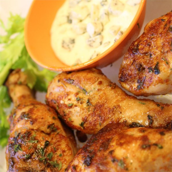 spicy hot chicken legs photos