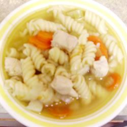 Chicken Rotini Soup