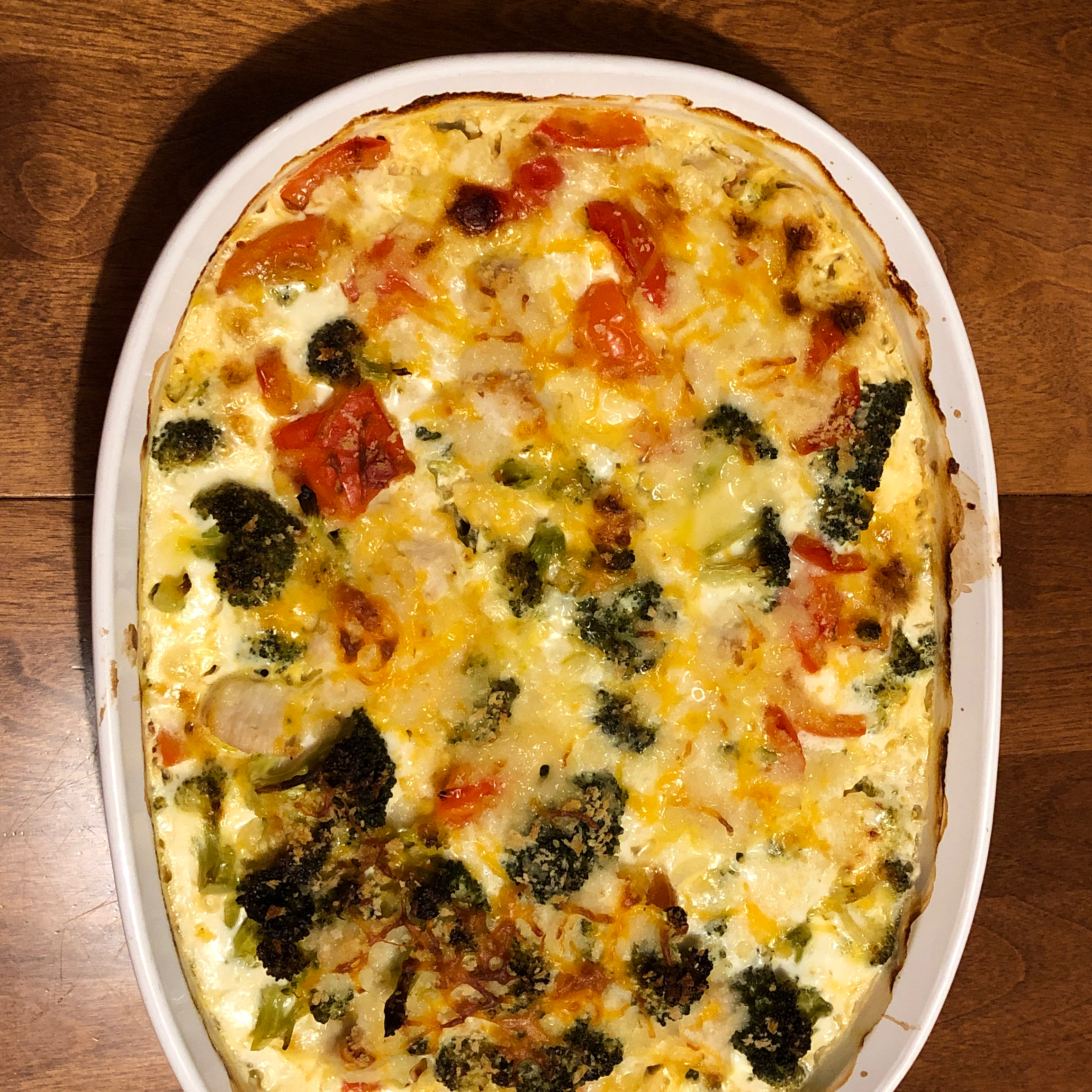Cheddar Broccoli and Chicken Casserole from Country Crock(R) Country Crock