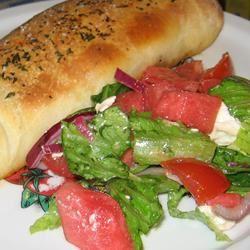 Watermelon Feta Salad image