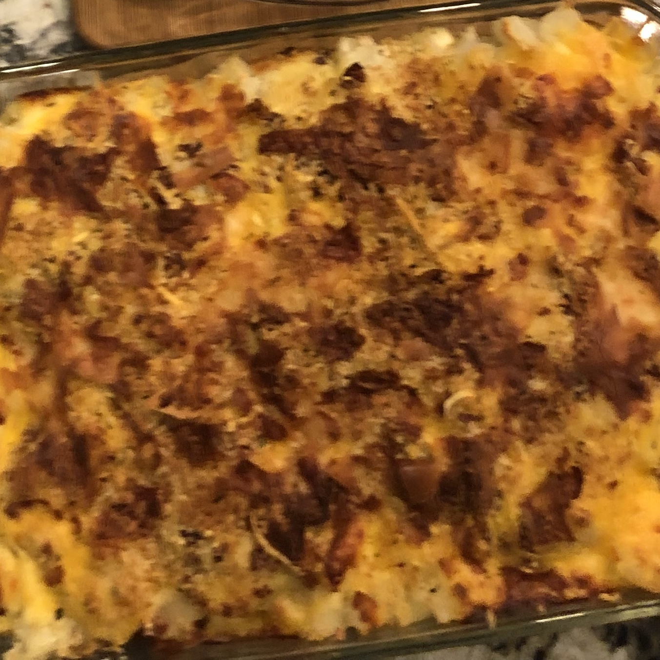 Parmesan-Crusted Au Gratin Potatoes and Onion Mary Kasner