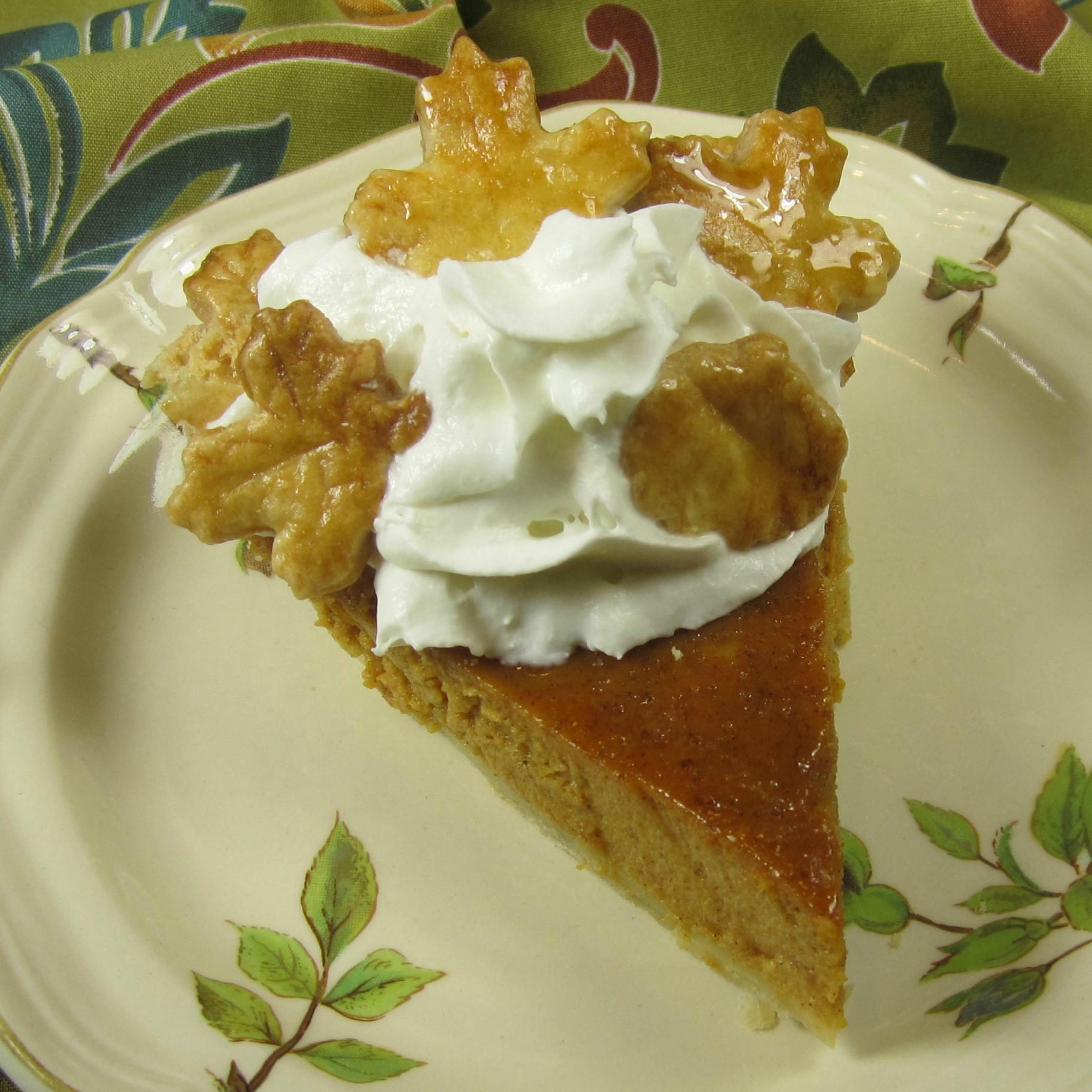 Easy Maple Pumpkin Pie image