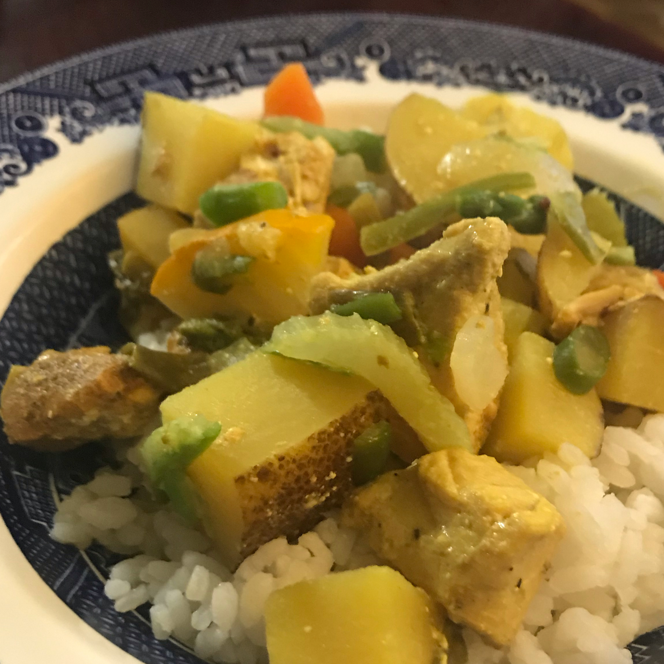 Slow Cooker Chicken Curry