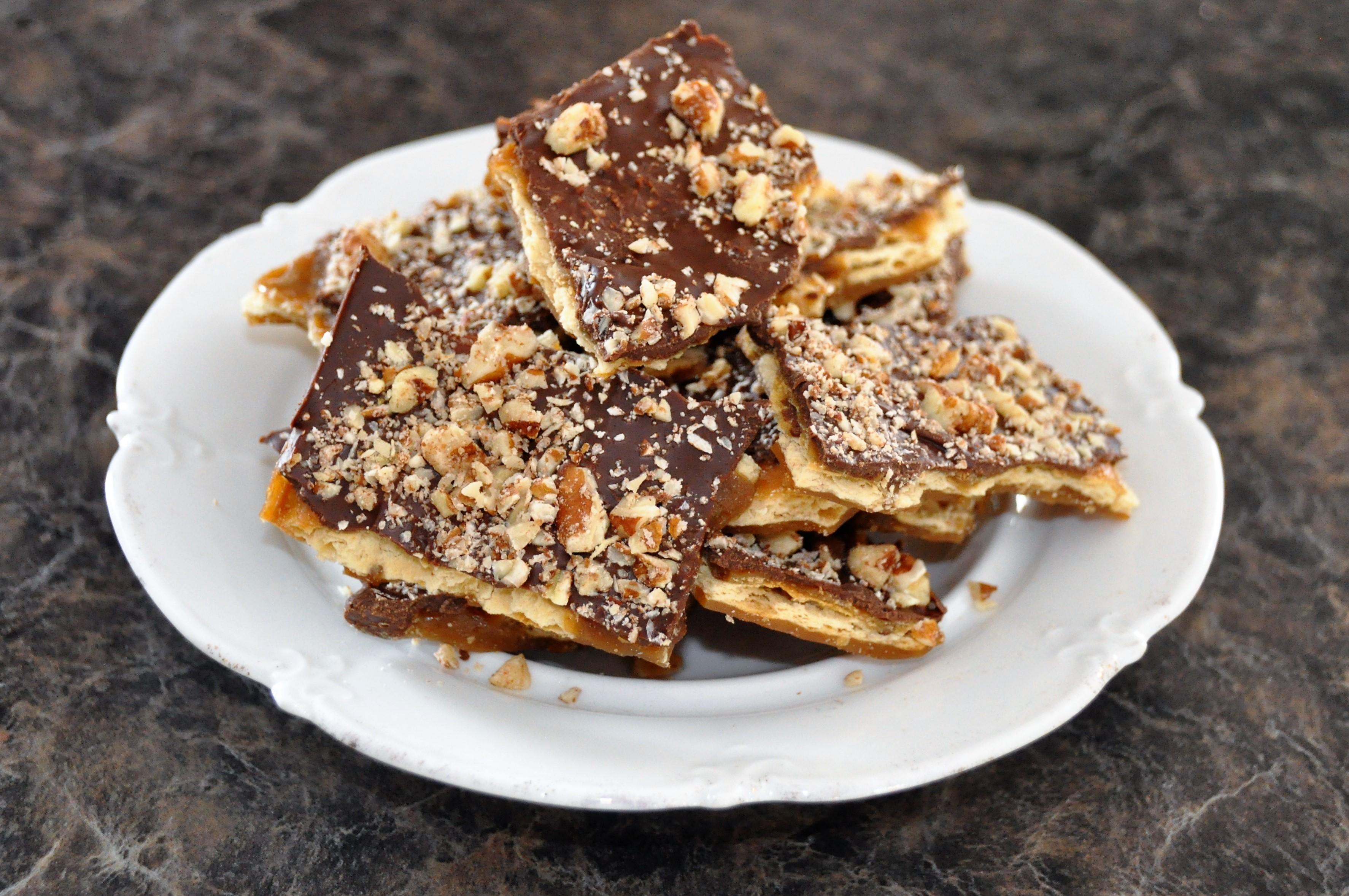 Saltine Toffee Cookies image