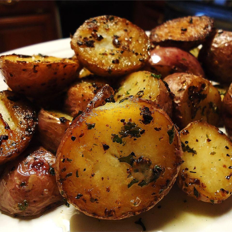 Oven Fried Potatoes I JSCHAUFE