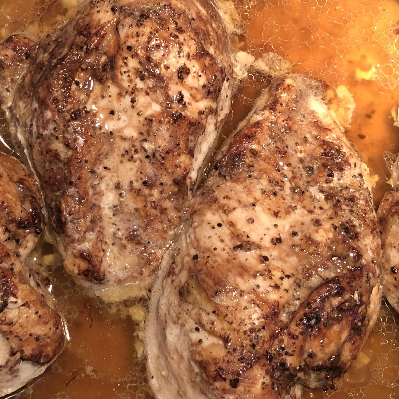 Three-Ingredient Baked Chicken Breasts