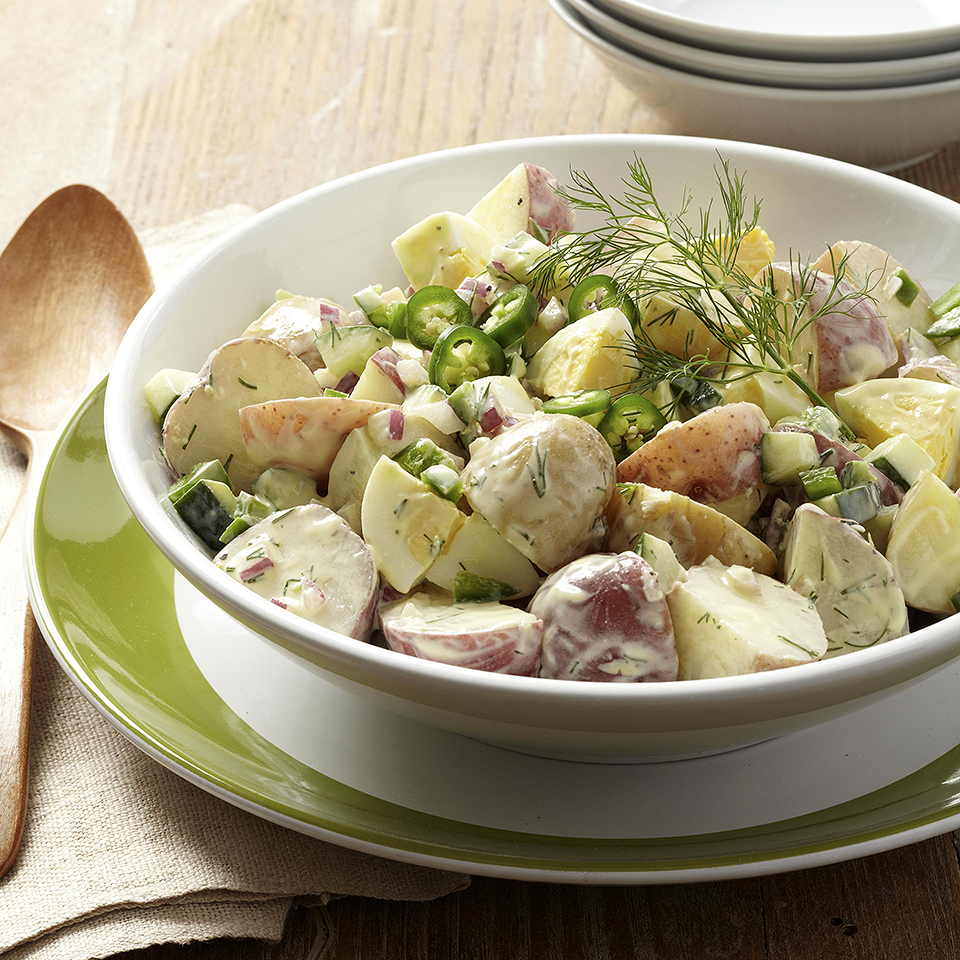 New Potato Salad with Cucumber & Jalapeño Diabetic Living Magazine