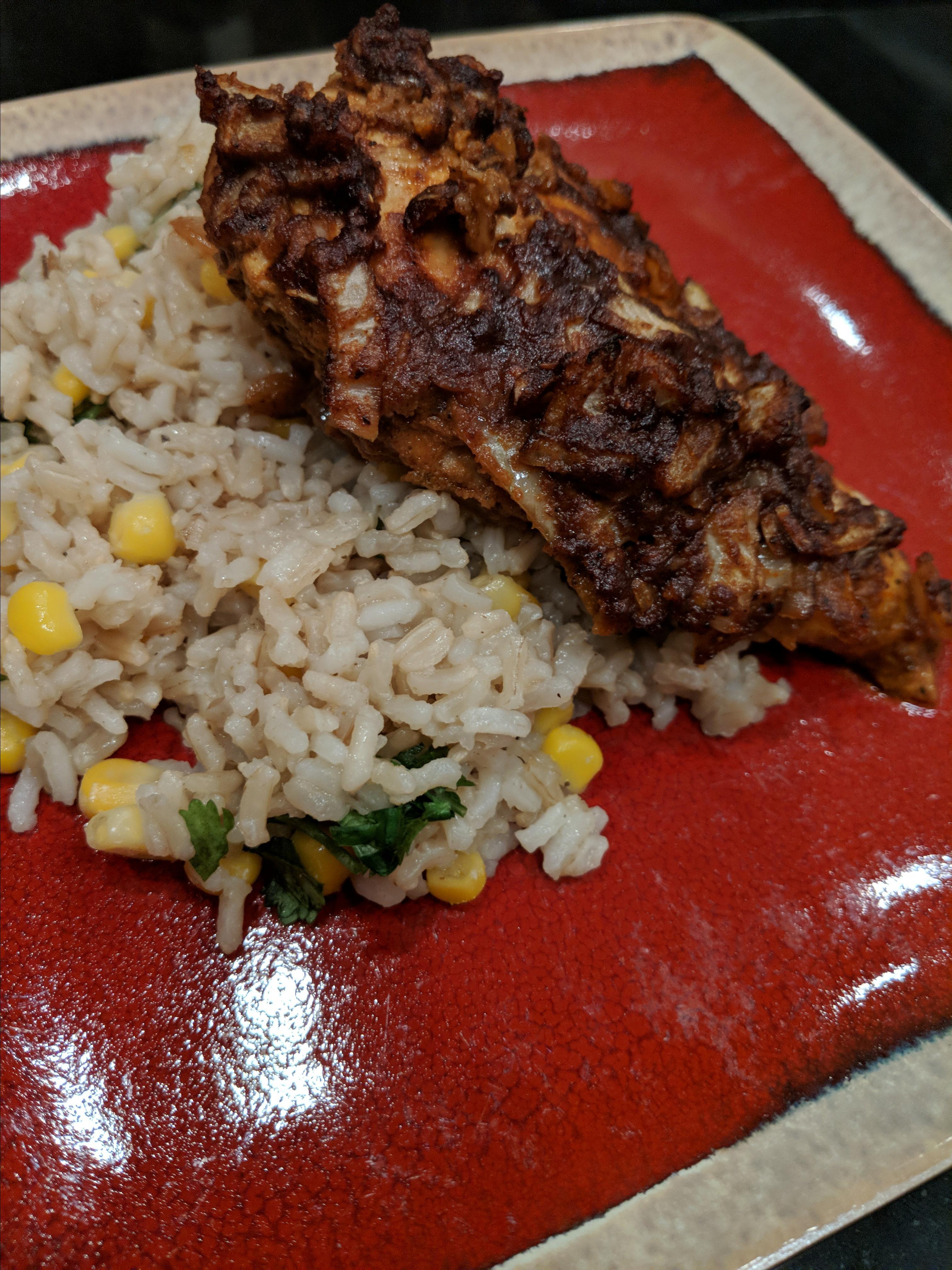 Bill's Peruvian Chicken and Rice Mickey Newman