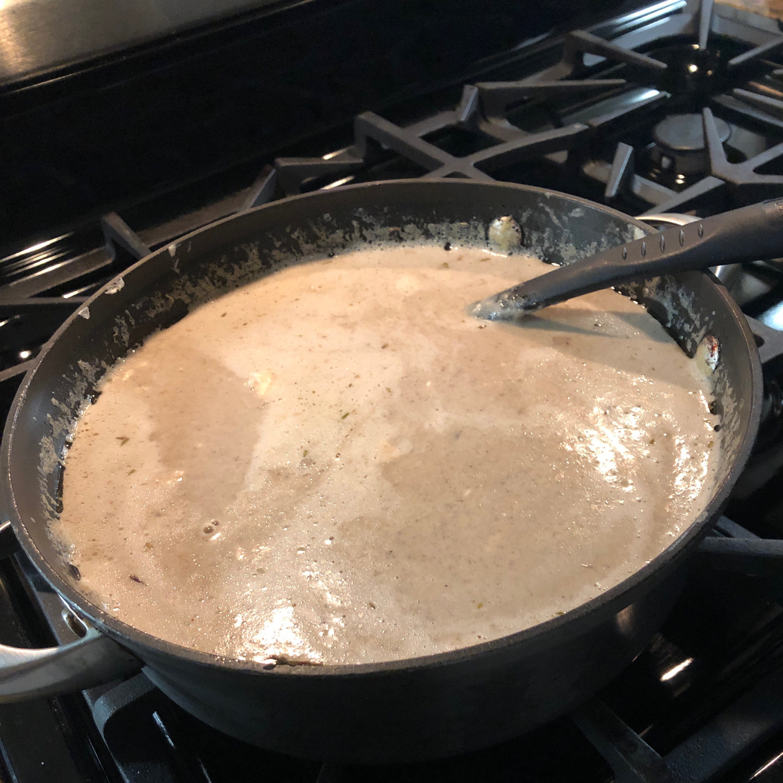 Low-Carb Cream of Mushroom Soup ccll