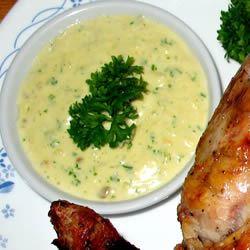 Creamy Garlic Sauce image